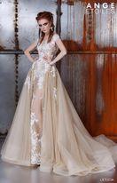 укороченные свадебные платья