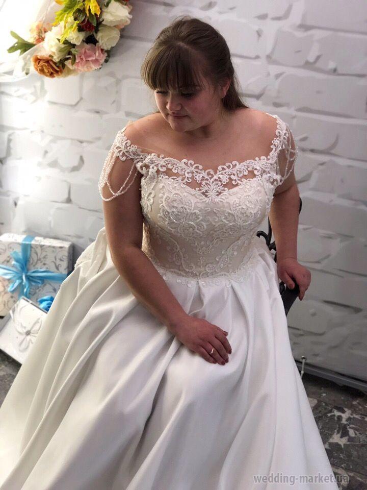 04cbf5250ec045d Свадебное платье Дана купить в Wedding-market